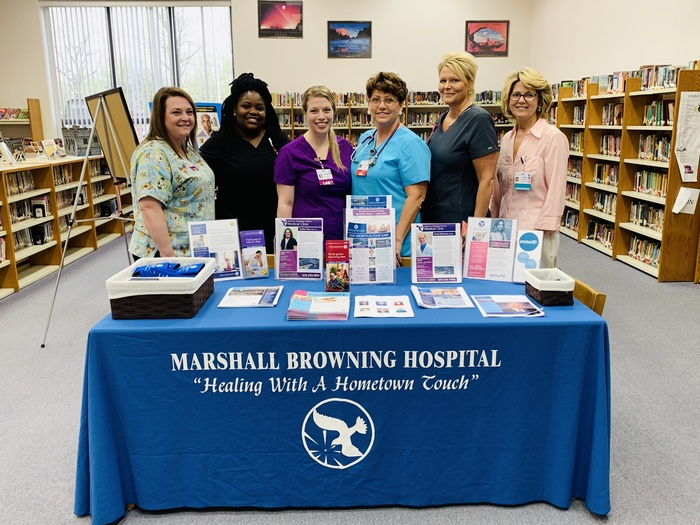 Marshall Browning Hospital Staff