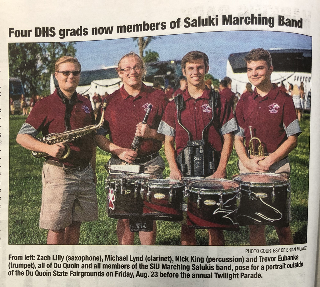 Marching Salukis